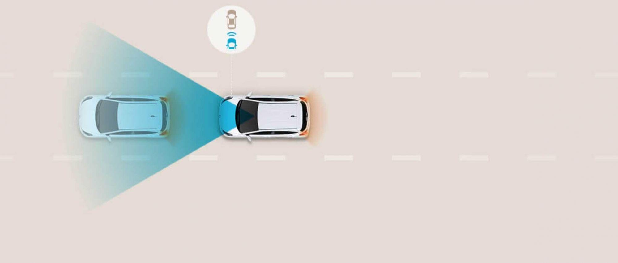 Sistem za izbegavanje sudara pri kretanju unapred (FCA)